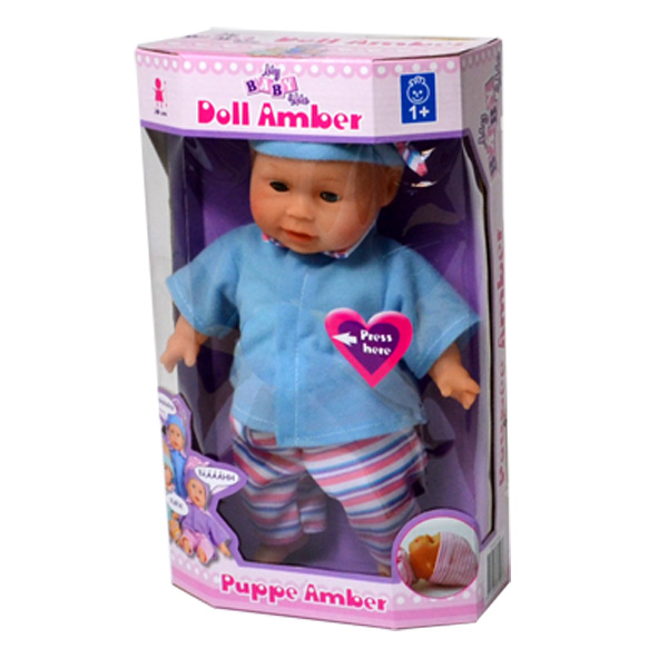 Doll and Sound Amber 30 cm 3 assort