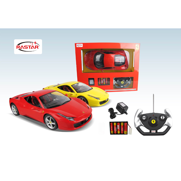 R/C 1:14 Ferrari 458 Italia (With Rechargeable battery)