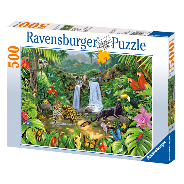 Ravensburg puzzle 500 piese In the Jungle